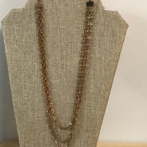 Jewelry - Beautiful triple tiered chain